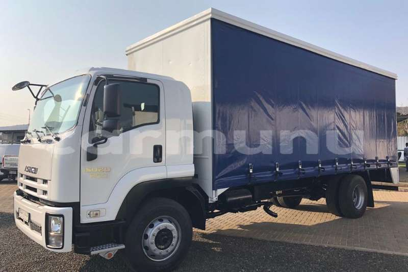 Big with watermark isuzu truck curtain side ftr850 fitted with curtainside body 2016 id 64164241 type main