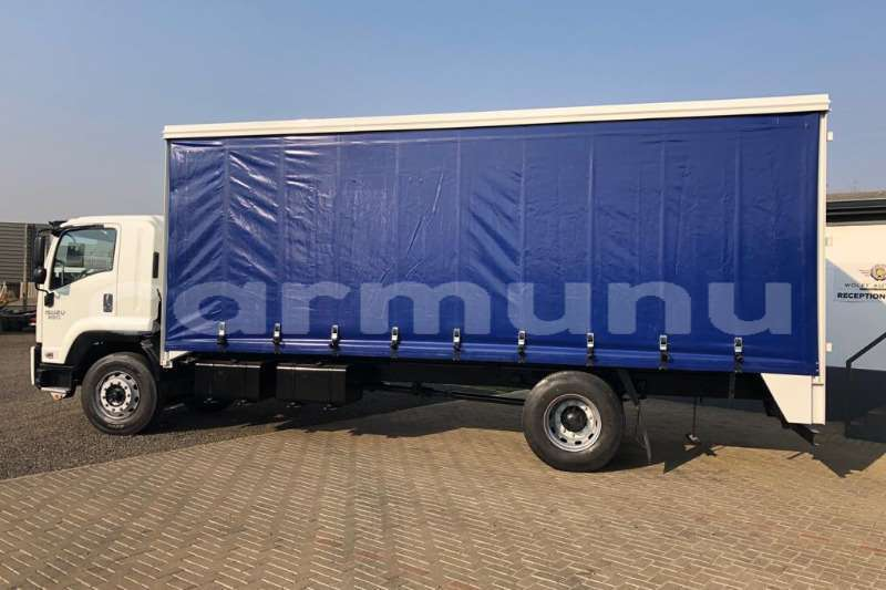 Big with watermark isuzu truck curtain side ftr850 fitted with curtainside body 2016 id 64164243 type main