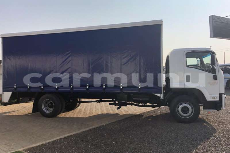 Big with watermark isuzu truck curtain side ftr850 fitted with curtainside body 2016 id 64164245 type main