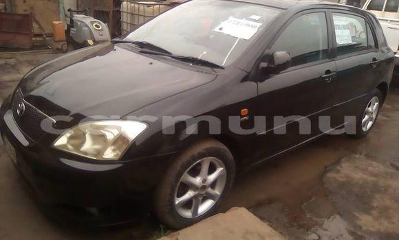 Acheter Occasion Voiture Toyota Corolla Noir à Pointe–Noire, Région du Kouilou