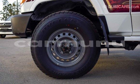 Acheter Importé Voiture Toyota Land Cruiser Blanc à Import - Dubai, Région de la Bouenza