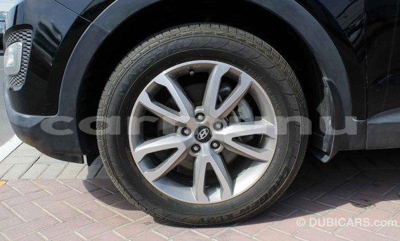 Buy Import Hyundai Santa Fe Black Car in Import - Dubai in Region of Bouenza